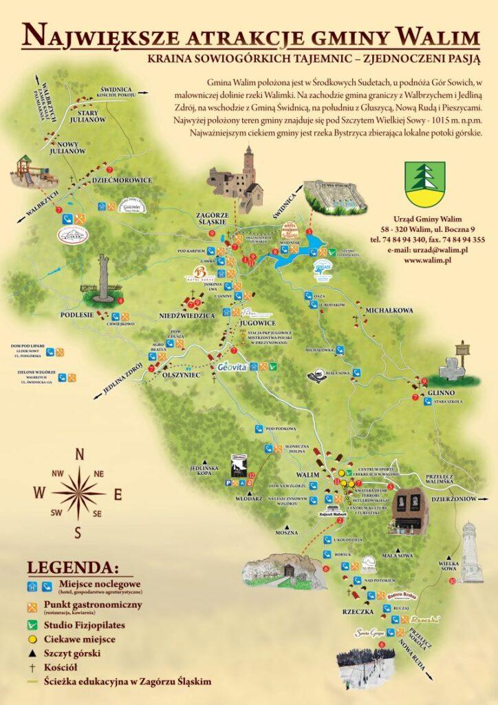 Atrakcje gminy Walim 10 - Chata za Górami