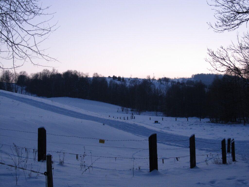 Zima w Zagórzu Śląskim 5 - Chata za Górami